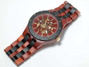 houten horloge voor heren plaatje